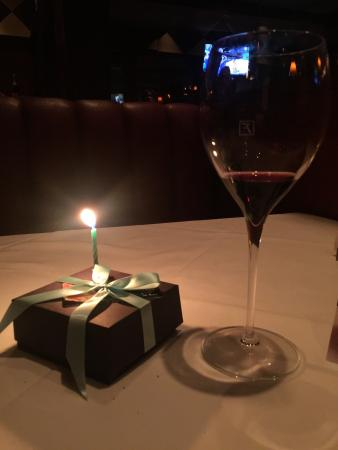 Fleming's Prime Steakhouse & Wine Bar : Wonderful and pleasant experience. It's also birthday my birthday treat which they also gave me