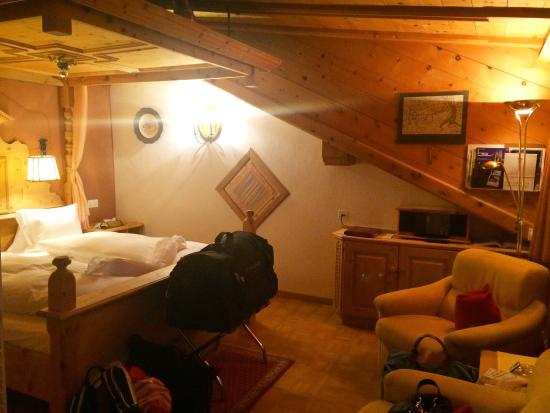 Tarasp, Suiza: Our room - n. 123