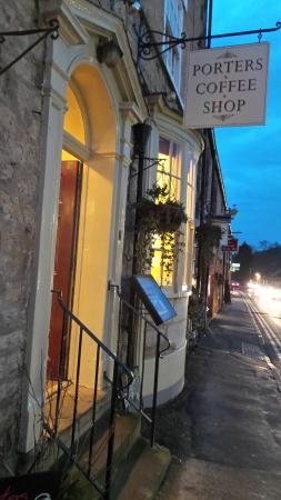 Helmsley, UK: Porters coffee house