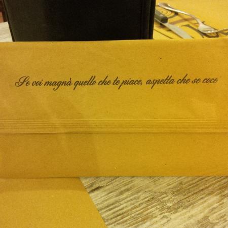 Frase Del Ristorante Foto Di Mattarello Parioli Roma Tripadvisor