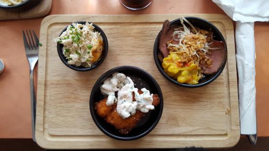 Vedbaek, Danimarka: Smørrebrød på Cafe Rosenhuset