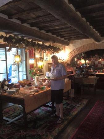 Torrita di Siena, Italië: Frühstückbereich