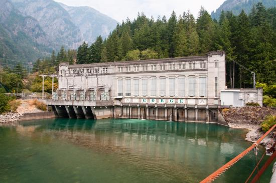 Marblemount, WA: Gorge Powerhouse at Newhalem
