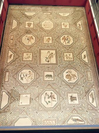 Römisch-Germanisches Museum: Floor from a Roman villa