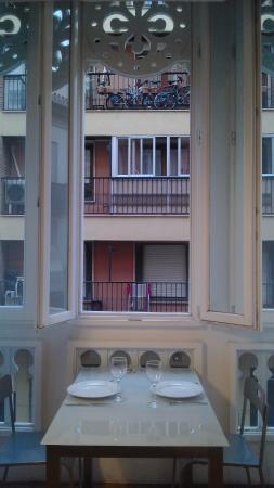 Valencia Province, Spain: наше красивое окно, вид из номера