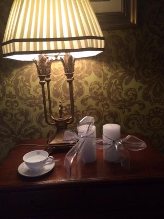 Raheen House: The little touches, china in the rooms in this 18th Century Manor House