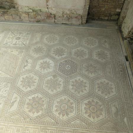 Risultati immagini per Floor mosaic The Punishment of Dirce