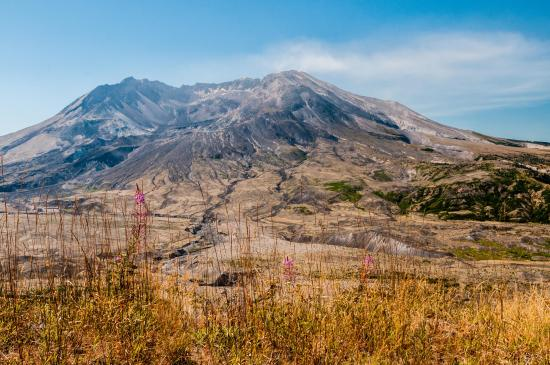 Toutle, WA: Mt St Helens from Observatory