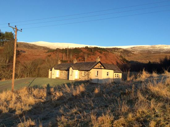 Newtonmore, UK: Frosty day