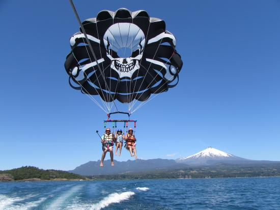 Pirate Parasailing