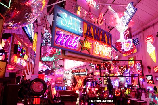 Neon Paradise Picture Of Gods Own Junkyard London