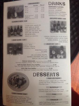 Reedsburg, WI: Full (take out) menu