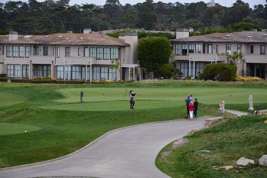 The Links at Spanish Bay: First tee