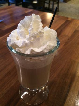 DeKalb, IL: Coffee with Baileys and whipped cream