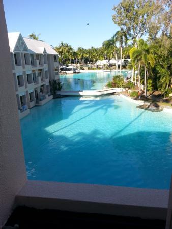 Sheraton Mirage Port Douglas Resort : Lagoon view