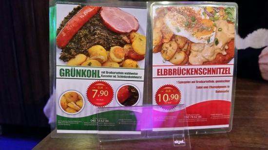 biglietto da vidita - bild von alt deutsche küche elbbrücken