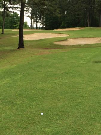 Fairfield Bay, AR: Sand traps are generally in very good shape.