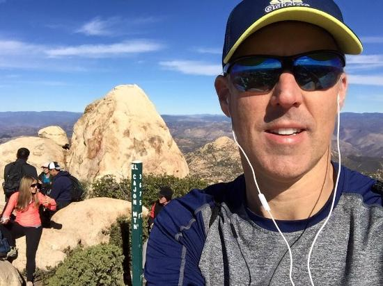 Lakeside, Californien: El Cajon Mountain Summit