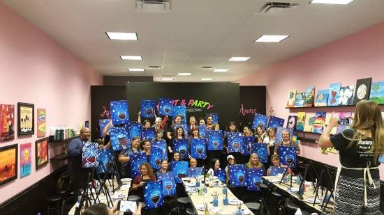 Masterpiece Mixers Paint & Party