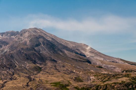 Amboy, واشنطن: Still Venting Volcanic Gases