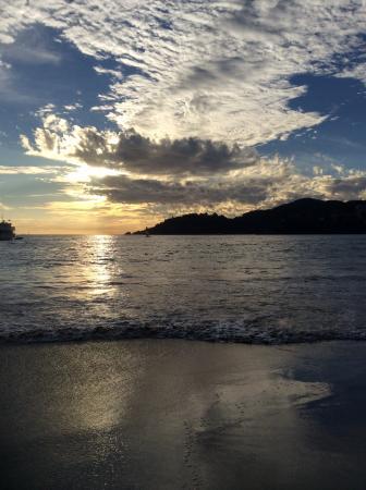 Hotel Cinco Sentidos: Sunset
