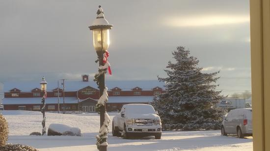 Farmstead Inn: Decorated for Christmas!