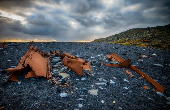 Hellnar, Ισλανδία: Epine Wreckage at Djupalonssandur