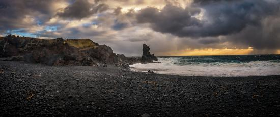 Hellnar, Ισλανδία: Beach at Djupalonssandur