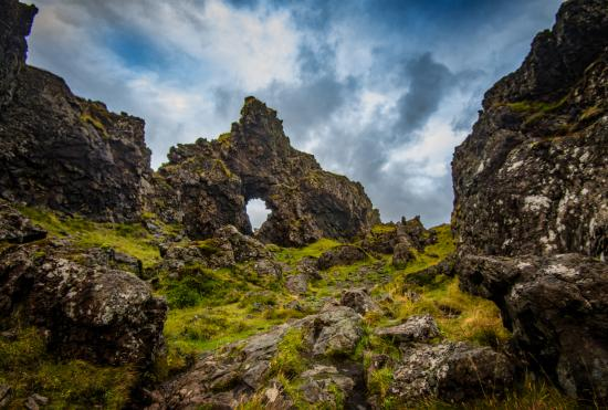 Hellnar, Ισλανδία: Natural Arch