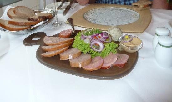 Dorint Am Goethepark Weimar: Thuringian Meats