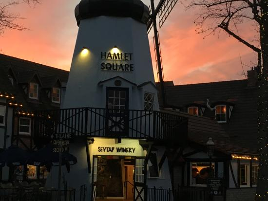 Solvang, CA: New Tasting Room is a Windmill!