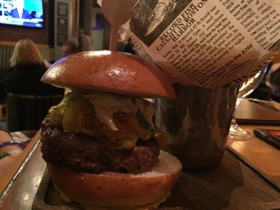 Lamb Burger - Picture of Gordon Ramsay Pub & Grill, Las