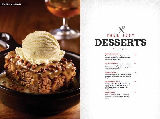 Tgi fridays desserts : Oil markers