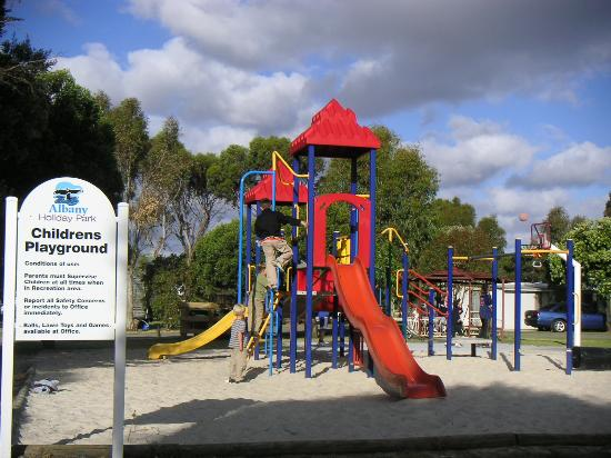 Albany Holiday Park: Playground