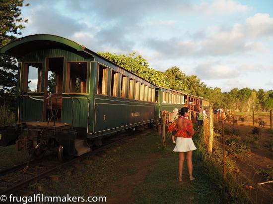 Kilohana Plantation Estate: Train