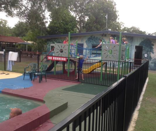 Woorim, Australia: The new playground is a hit!