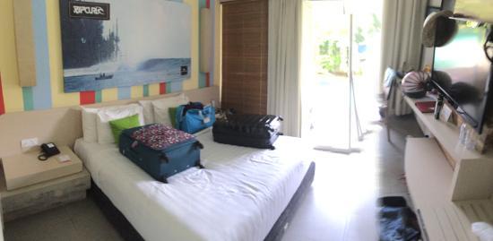 Bliss Surfer Hotel: Deluxe Lagoon King Room