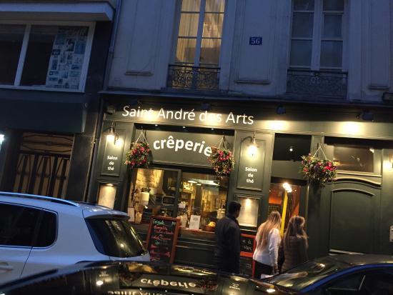 Creperie Saint Andre Des Arts Paris Odeon Saint