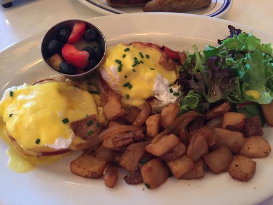SAG Harbor, État de New York : Eggs Benedict