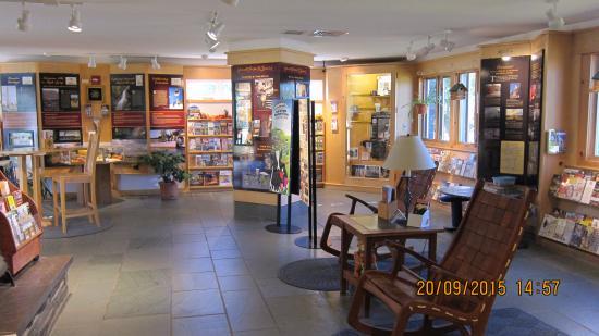 Fair Haven, VT: Уютный зал инфоцентра