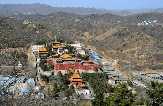 Weichang County, Kina: Xumi Fushou Temple