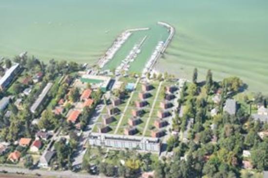 Balatonlelle, Hungría: BIrd view