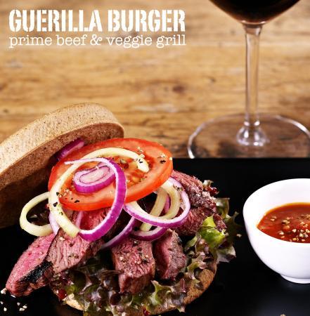 Guerilla Burger: Steak Burger