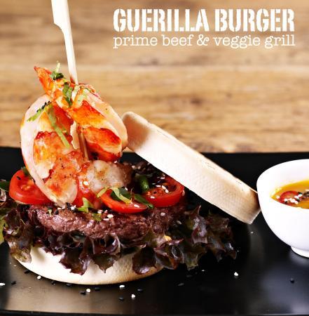 Guerilla Burger: Surf & Turf Burger