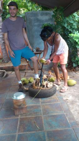 Saint-Leu, Reunion Island: Maison du coco