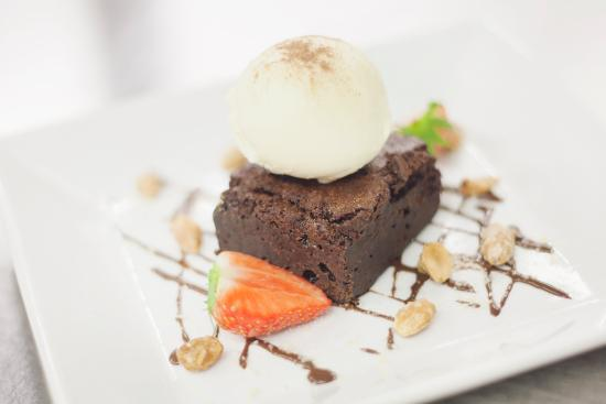 Slane, Irland: Chocolate Brownie