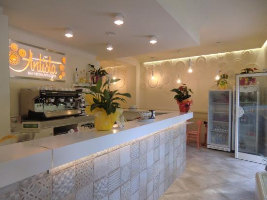 bancone - Foto de bar pizzeria Antista, Pisa - TripAdvisor