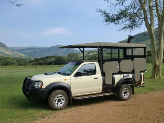 Waterval Boven, Republika Południowej Afryki: ons vervoermiddel