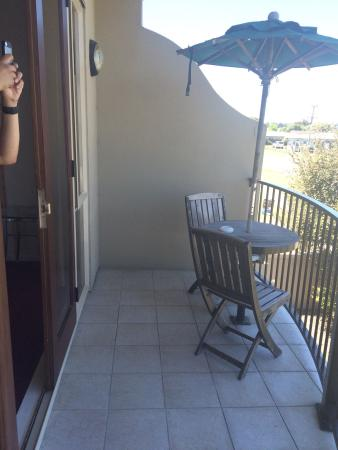 Chantilly's Lake Taupo: Private Balcony