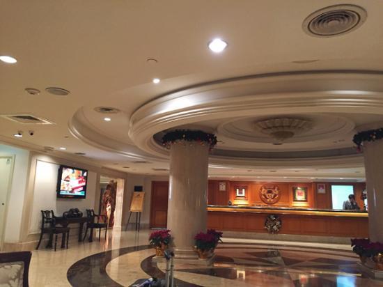 Imperial Hotel Taipei: ホテルロビー